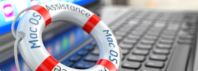 Récupération de données - Mac OS assistance